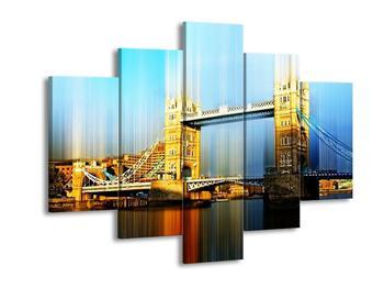 Moderní obraz Tower Bridge (F004240F150105)