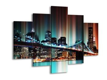 Moderní obraz města New York  (F004245F150105)