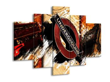 Moderní obraz Londýnského metra (F004255F150105)