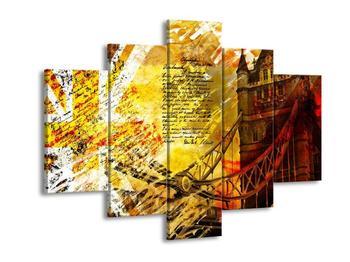 Moderní obraz jedné věže Tower Bridge (F004271F150105)