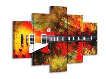 Moderní obraz kytary  (F004286F150105)