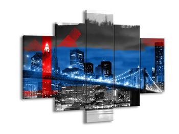 Moderní obraz New Yorku (F005544F150105)