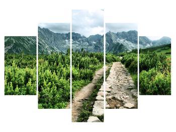 Tablou cu peisaj montan (K010100K150105)