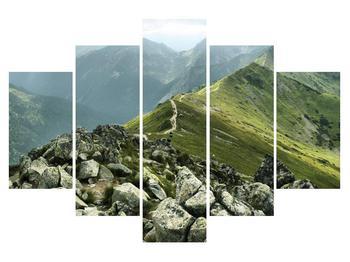 Tablou cu peisaj montan  (K010210K150105)