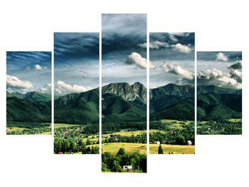 Tablou cu peisaj montan (K010215K150105)