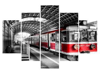 Nostalgikus vonat képe (K010225K150105)