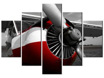 Repülőgép légcsavarjának részletes képe (K010271K150105)