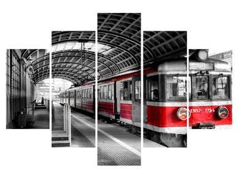 Obraz historického vlaku (K010535K150105)