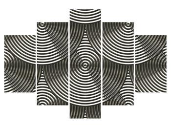 Abstraktní obraz - tvary (K010562K150105)