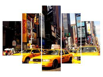 Tablou cu Yelow taxi din NY (K010821K150105)