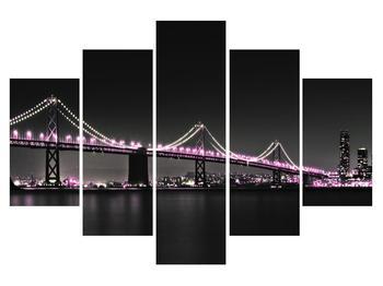 Noční obraz mostu (K010929K150105)