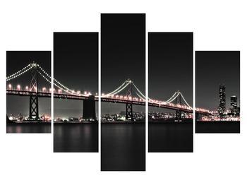 Noční obraz mostu (K010934K150105)