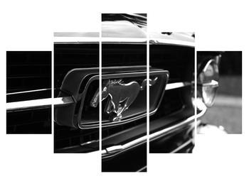 Tablou detailat cu mașina Mustang (K010943K150105)