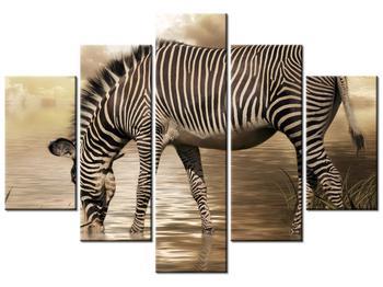 Tablou cu zebră (K011110K150105)