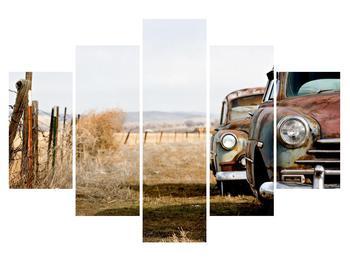 Obraz starých aut (K011112K150105)
