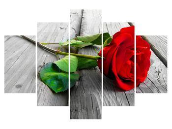 Tablou cu trandafirul roșu (K011140K150105)