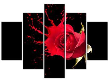 Rózsás kép (K011216K150105)