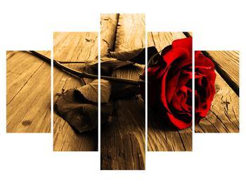 Tablou cu trandafir (K011237K150105)