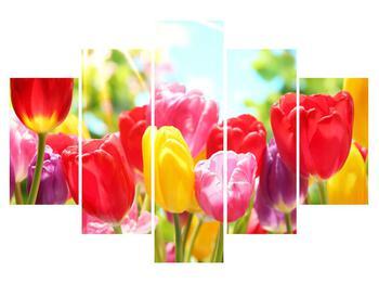Tulipános kép (K011255K150105)
