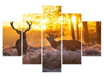 Obraz jelenů (K011267K150105)