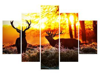 Obraz jelenů (K011268K150105)