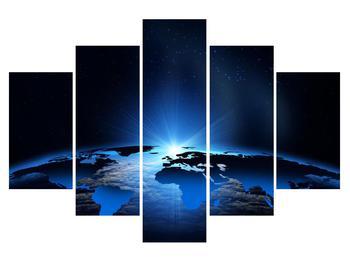 Tablou cu harta lumii (K011269K150105)