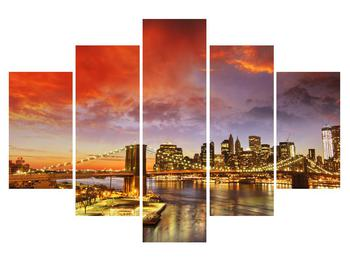 Tablou cu podul Brooklyn (K011278K150105)