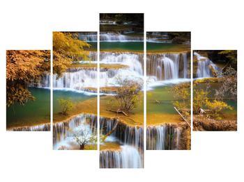 Tablou râului cu cascade (K011289K150105)