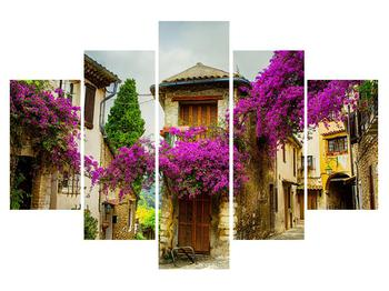 Obraz stredomorskej letnej uličky (K011291K150105)