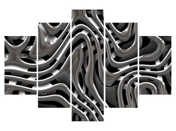 Abstraktní černobílý obraz  (K011314K150105)