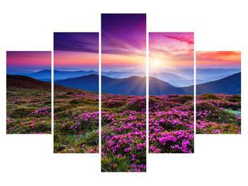 Obraz horskej rozkvitnutej krajiny (K011322K150105)