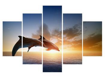 Obraz delfínov (K011358K150105)
