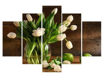 Obraz tulipánů ve váze (K011364K150105)