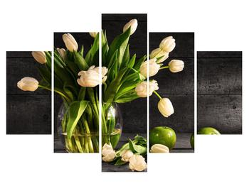 Tablou cu lalele în vază (K011392K150105)