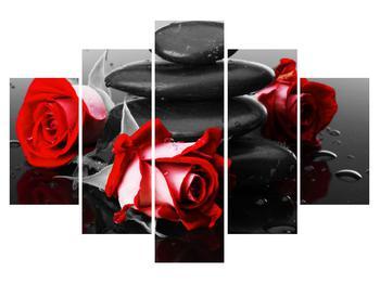 Tablou cu trandafir (K011400K150105)