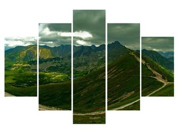 Tablou cu peisaj montan (K011454K150105)