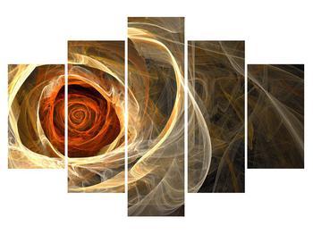 Modern kép rózsával (K011479K150105)