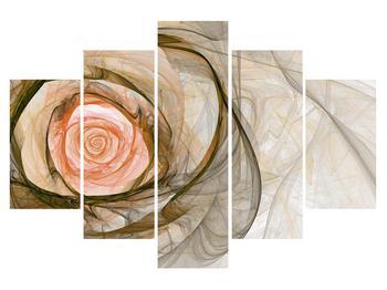 Modern kép rózsával (K011481K150105)