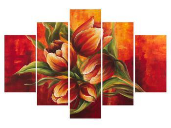 Tablou cu flori de lalele (K011616K150105)