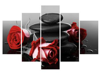 Tablou cu trandafir (K011705K150105)