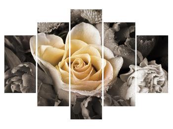 Tablou cu trandafir (K011746K150105)