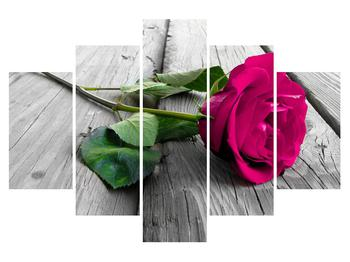 Tablou cu trandafir (K011768K150105)