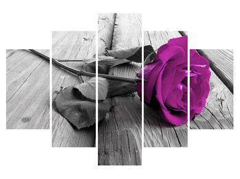 Tablou cu trandafir (K011803K150105)