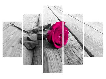 Tablou cu trandafir (K011856K150105)