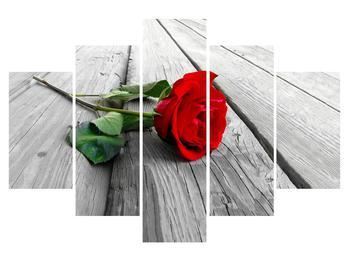 Tablou cu trandafir (K011858K150105)