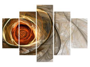 Moderný obraz ruže (K011863K150105)
