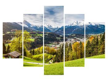 Tablou cu peisaj montan (K011867K150105)