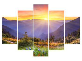 Tablou cu peisaj de pădure (K011868K150105)