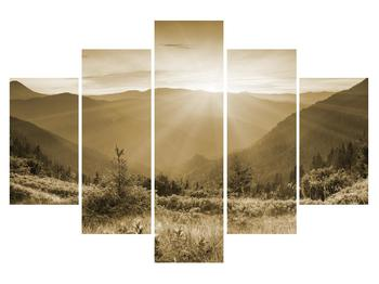 Tablou cu peisaj montan (K011872K150105)