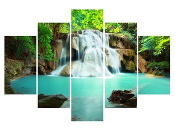 Obraz řeky s vodopády (K011969K150105)
